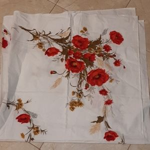 Vintage Square cotton tablecloth